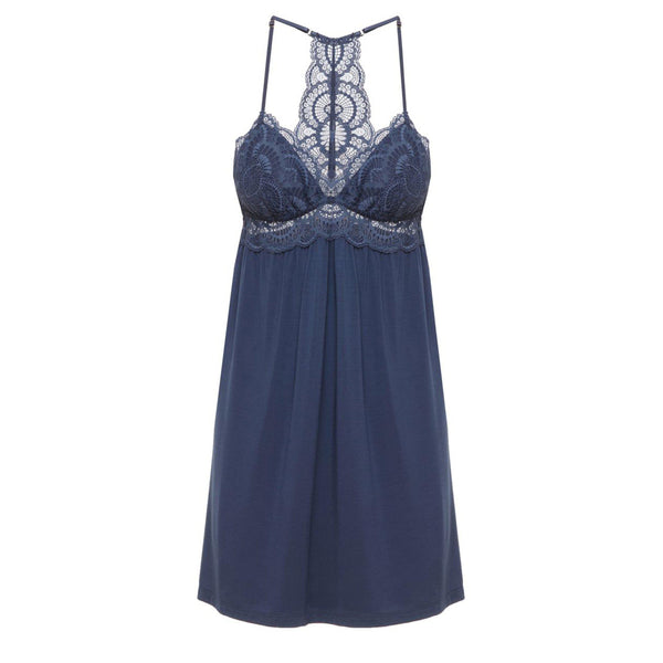 CLOTHING - Simona Merry Me Chemise Crown Blue