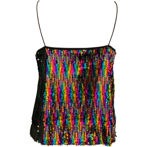 CLOTHING - Spotlight Sequin Cami Multi