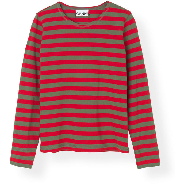 CLOTHING - Striped Cotton Jersey Pullover Samba