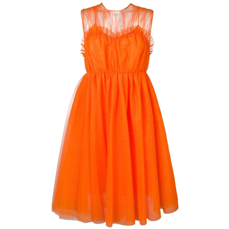CLOTHING - Tulle Dress Orange