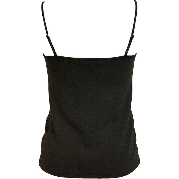 CLOTHING - Twist Cami Noir