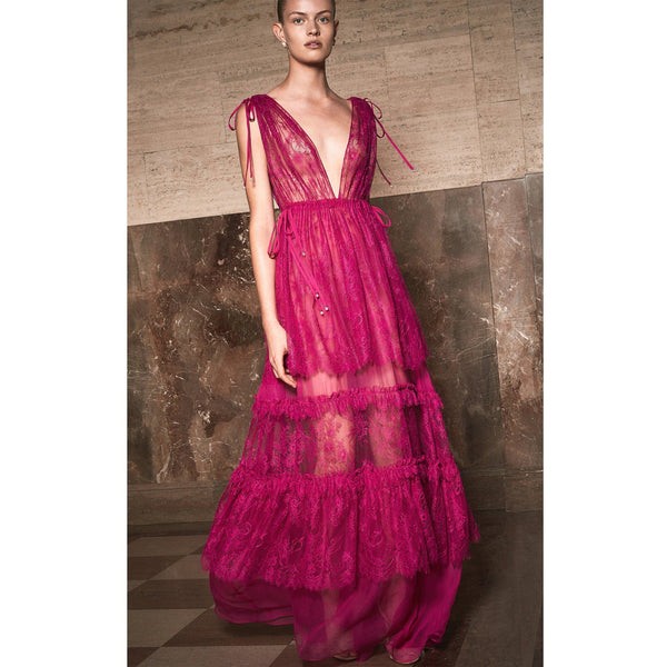 CLOTHING - Umbria Dress Fuchsia