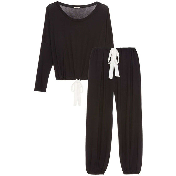 CLOTHING - Vera Slouchy Set Black