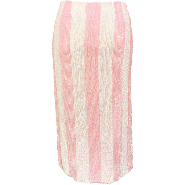 CLOTHING - Veronica Skirt Unicorn Pink Stripes