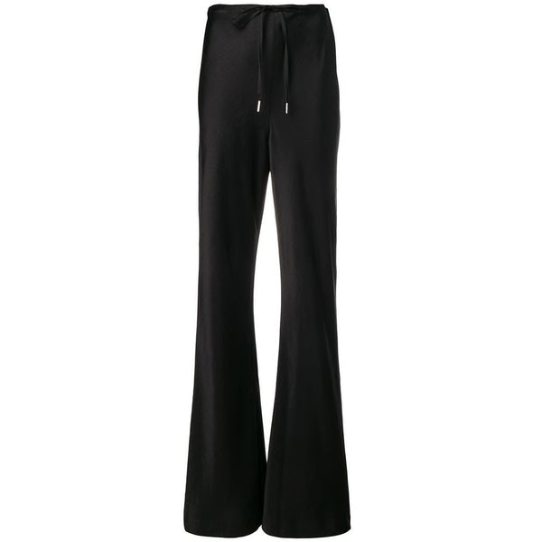CLOTHING - Wash And Go Woven Drawstring Pants Black