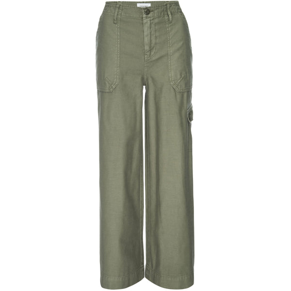 CLOTHING - Wide Leg Service Pant Military