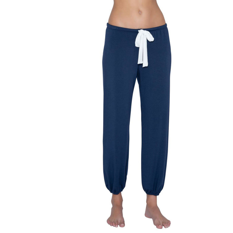 CLOTHING - Winter Heather Cropped Pant Cosmic Blue