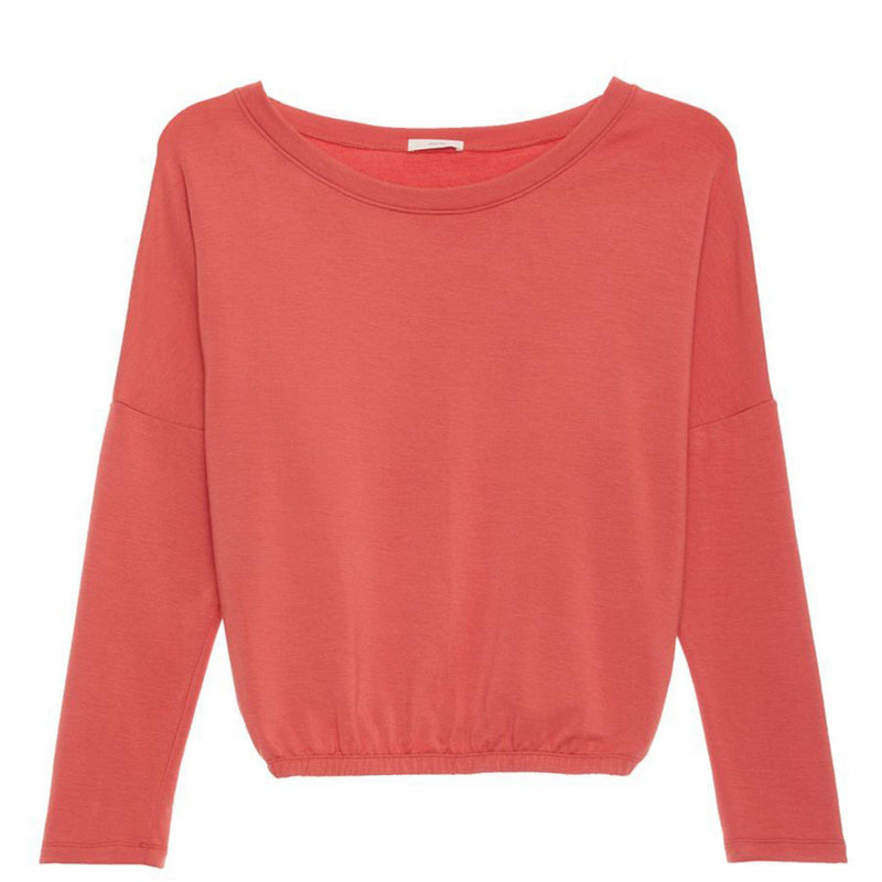 CLOTHING - Winter Heather Slouchy Tee Mineral Red