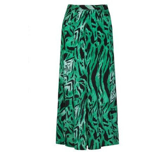 Diana Tiger Stripe Skirt