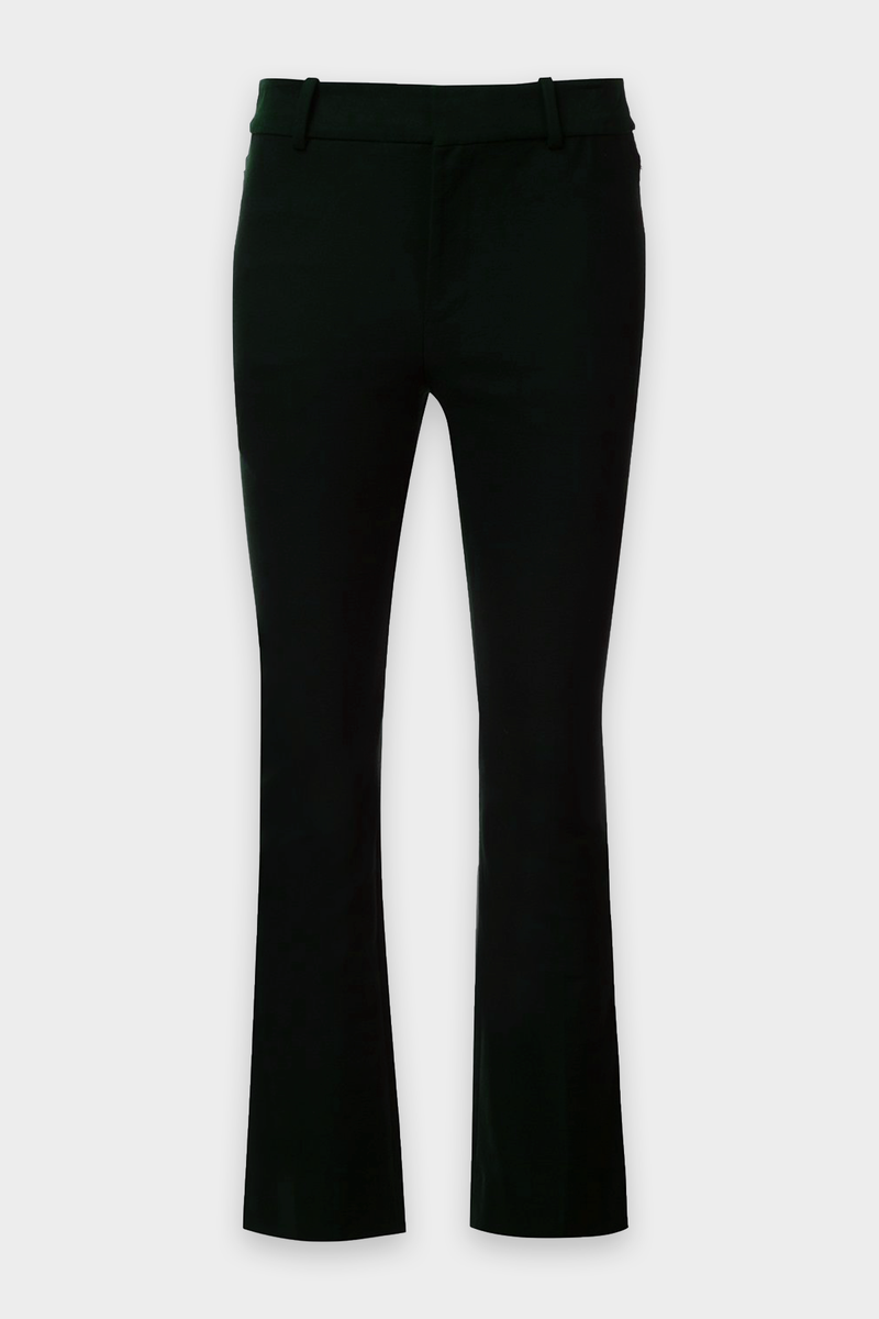 Robertson Flare Trouser with Sailor Buttons in Black