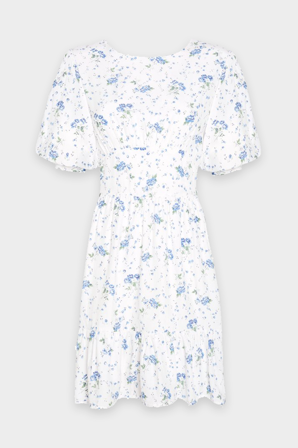 Desmond Mini Dress in Astoria Floral Print