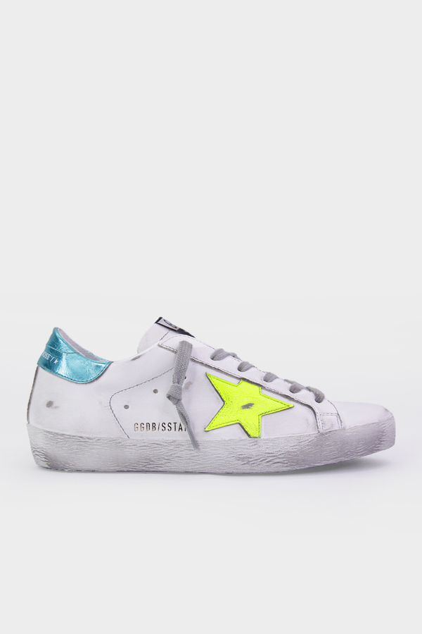 Super-Star Yellow Fluo Star Sneaker