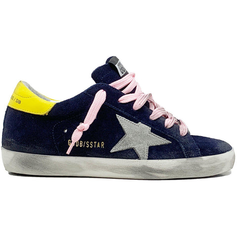 Superstar Blue Suede Ice Star Sneaker