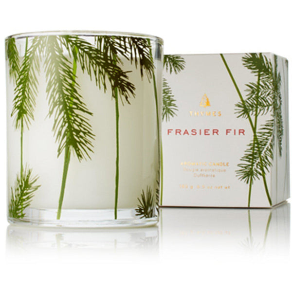 HOME - Frasier Fir Poured Candle With Needle Deco