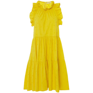 Tamsin Dress Chartreuse