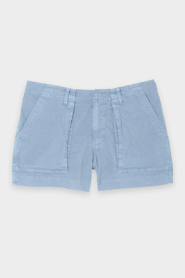 Utility Short in Slate Blue