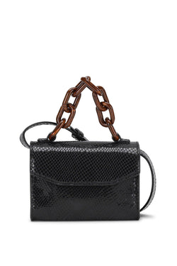 PRE-ORDERS - Leather Belt Bag Black