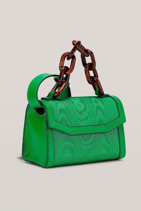 PRE-ORDERS - Leather Belt Bag Island Green