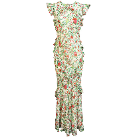 Tamara Dress Ivory Ornamental