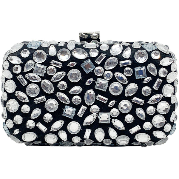 Diamond Clutch Black