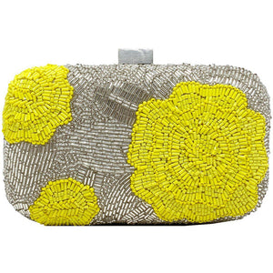 Flower Clutch Yellow