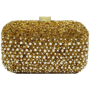 Pearl Clutch Gold