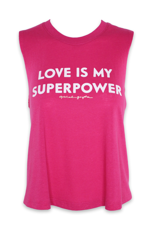 Super Power Crop Tank in DRF