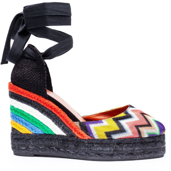 SHOES - Carina Wedge Espadrilles Multicolor