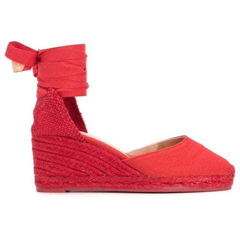 SHOES - Carina Wedge Red