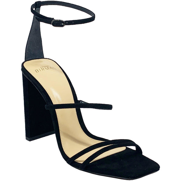 SHOES - Lacy High Heel Sandal Black