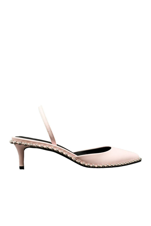 SHOES - Rina Low Calf Sandal Pale Pink