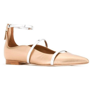 SHOES - Robyn Gold Flat