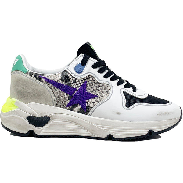 SHOES - Runner Natural Snake Sneaker Violet