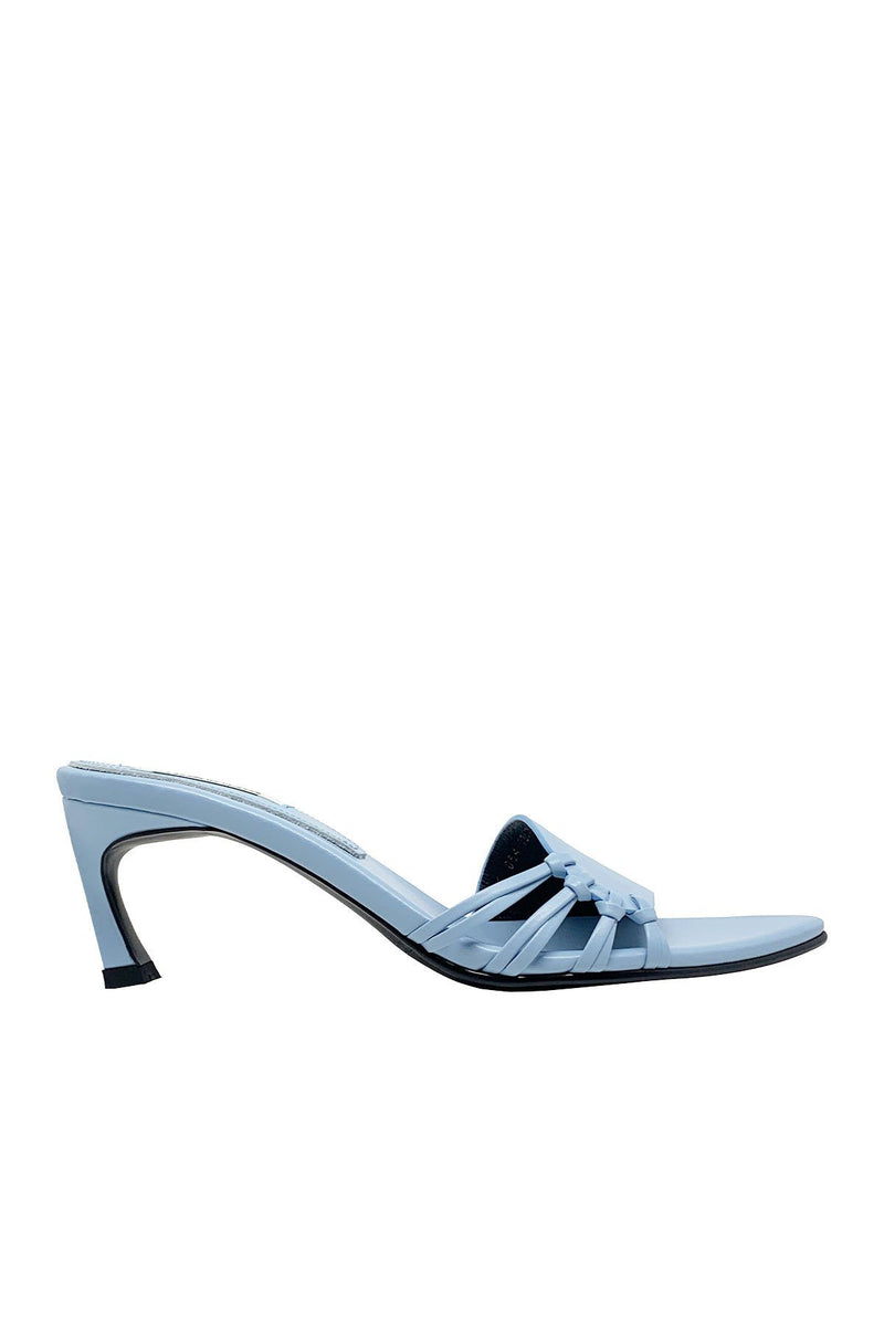 SHOES - Side Knot Mules Sky Blue