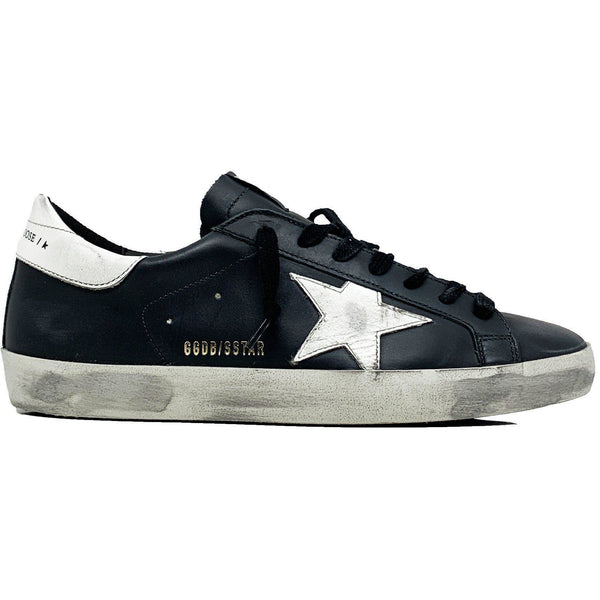 SHOES - Superstar Black White Star Men Sneaker