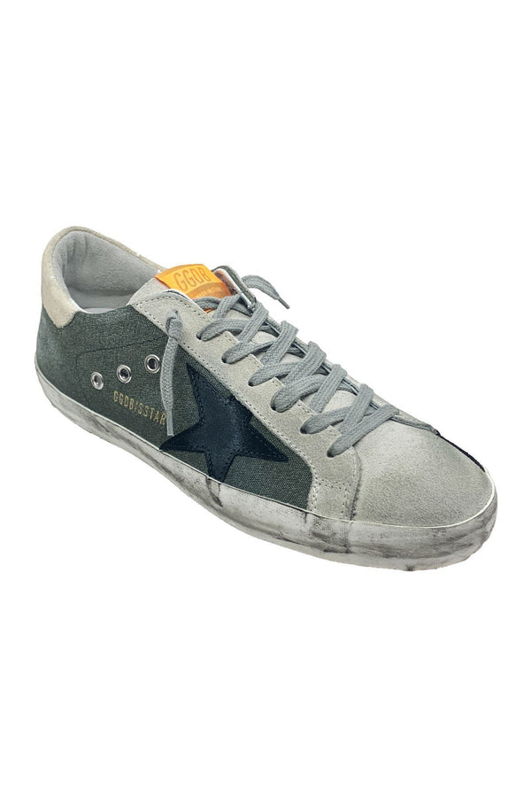 SHOES - Superstar Green Canvas Men Sneaker
