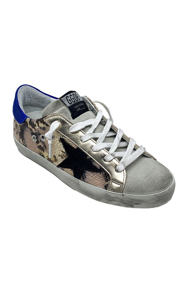 SHOES - Superstar Printed Python Sneakers