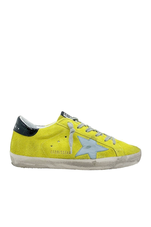 SHOES - Superstar Yellow Suede Cocco Print Sneaker