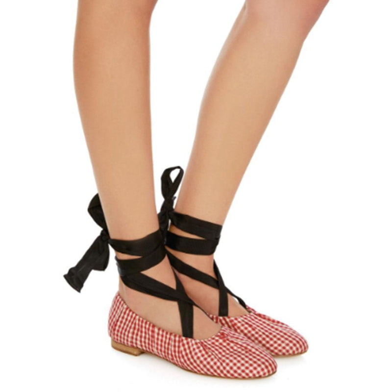 SHOES - Sylvie Gingham Ballet