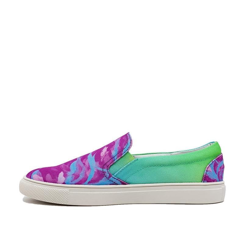 SHOES - Zebra Fucsia Sneakers