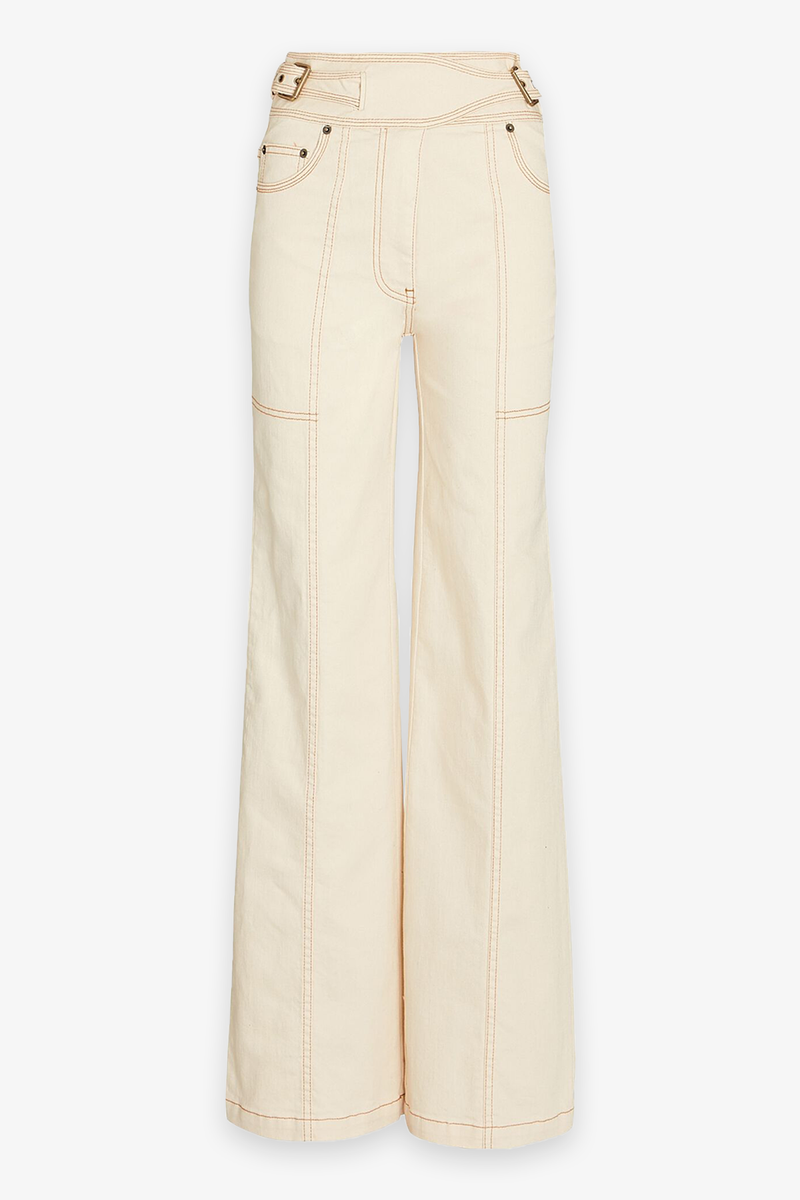 Albie Pant in Blanc