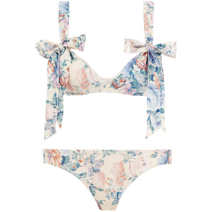 Verity Scoop Tie Bikini Set