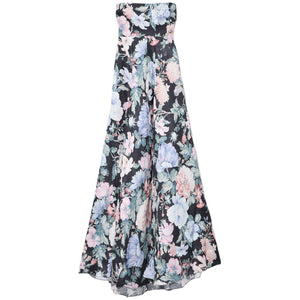 Verity Strapless Long Dress