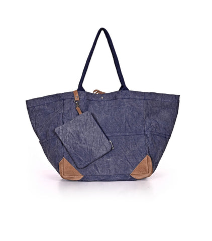 Denim Cotton Oversized Tote