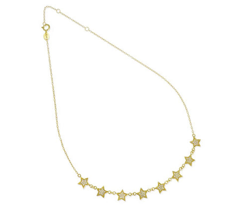 8 Star Necklace