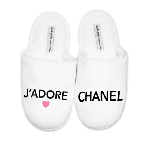 J'Adore Chanel - slippers
