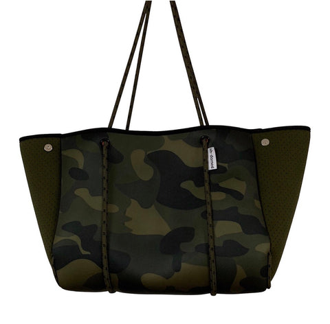 Army Camo Neoprene Bag