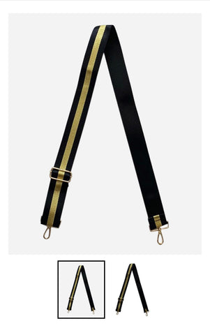 Black and Gold stripe strap