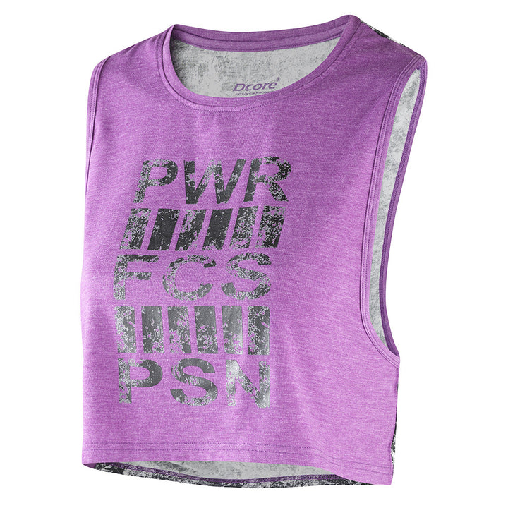 Cropped Power Tank