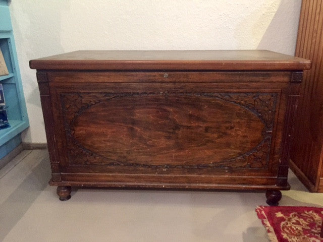 Vintage Cedar Lined Chest